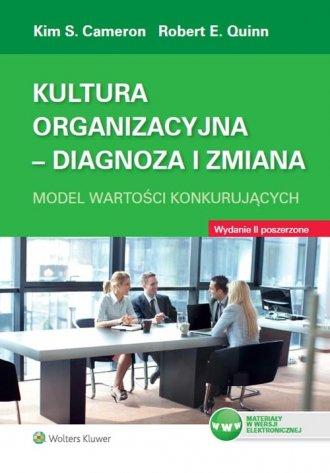 Kultura organizacyjna. Diagnoza - okładka książki