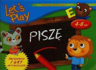 Lets Play. Piszę. Ćwiczenia i gry - okładka książki