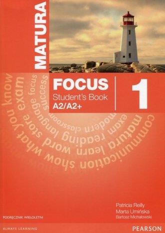 Matura. Focus 1. Students Book - okładka podręcznika