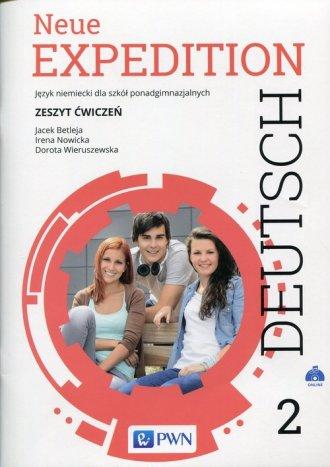 Neue Expedition Deutsch 2. Szkoła - okładka podręcznika