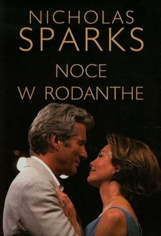 Noce w Rodanthe - okładka książki