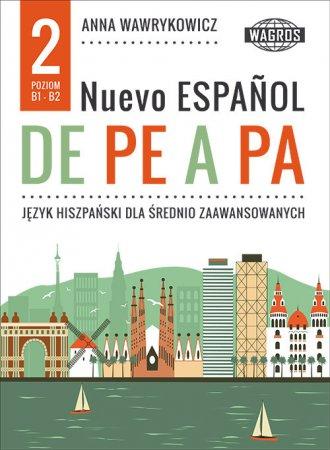 Nuevo espanol de pe a pa 2. Język - okładka podręcznika