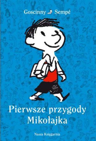 Pierwsze przygody Mikołajka - okładka książki