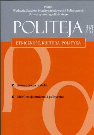 Politeja nr 31(1)/2014 - okładka książki