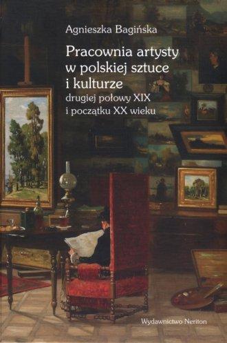 Pracownia artysty w polskiej sztuce - okładka książki