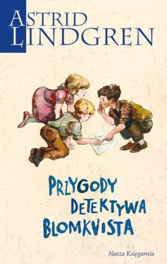 Przygody detektywa Blomkvista - okładka książki
