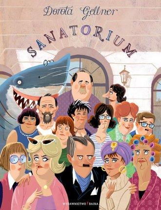 Sanatorium - okładka książki