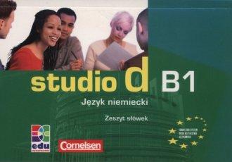 Studio d B1. Zeszyt słówek - okładka podręcznika