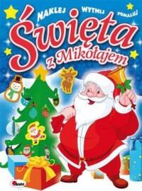 Święta z Mikołajem - okładka książki