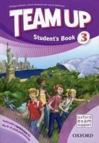 Team Up 3. Szkoła podstawowa. Podręcznik z repetytorium - okładka podręcznika