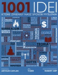 1001 idei, które zmieniły nasz sposób myślenia - okładka książki
