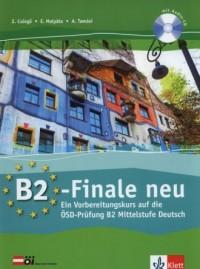 B2 Finale Neu. Ubungsbuch (+ CD) - okładka podręcznika