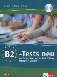B2 Tests neu. Testbuch (+ CD) - okładka podręcznika