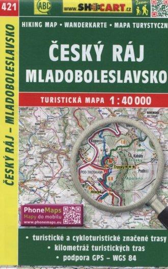 Cesky Raj Mladoboleslavsko Mapa - okładka książki