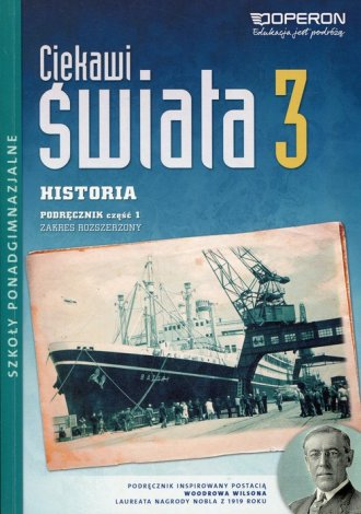 Ciekawi świata 3. Historia. Podręcznik - okładka podręcznika