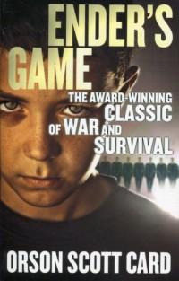 Enders Game - okładka książki