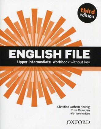 English File Upper-Intermediate - okładka podręcznika