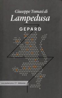 Gepard - okładka książki