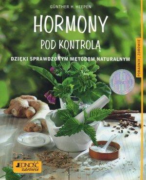 Hormony pod kontrolą dzięki sprawdzonym - okładka książki