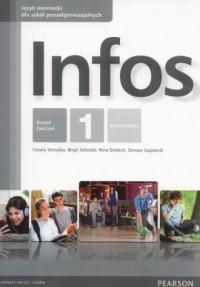 Infos 1 Ćwiczenia. Szkoły ponadgimnazjalne - okładka podręcznika
