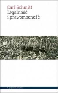 Legalność i prawomocność - Carl - okładka książki