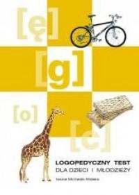 Logopedyczny test dla dzieci i młodzieży - okładka książki
