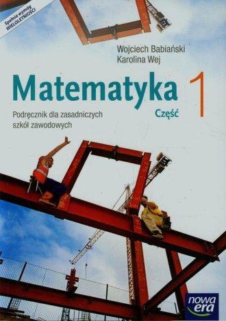 Matematyka 1. Zasadnicza szkoła - okładka podręcznika