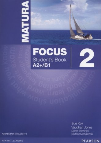 Matura Focus 2 Students Book wieloletni - okładka podręcznika
