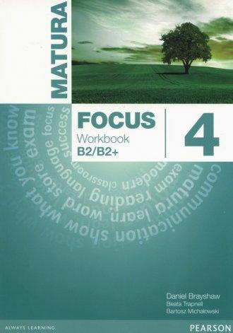 Matura Focus 4. Workbook wieloletni - okładka podręcznika