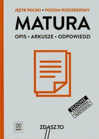 Matura. Język polski. Poziom rozszerzony. - okładka podręcznika