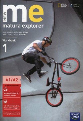 New Matura Explorer 1 Workbook. - okładka podręcznika