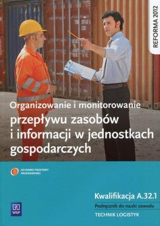 Organizowanie i monitorowanie przepływu - okładka podręcznika
