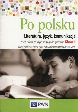 Po polsku 2. Gimnazjum. Zeszyt - okładka podręcznika