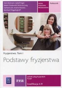 Podstawy fryzjerstwa Fryzjerstwo - okładka podręcznika