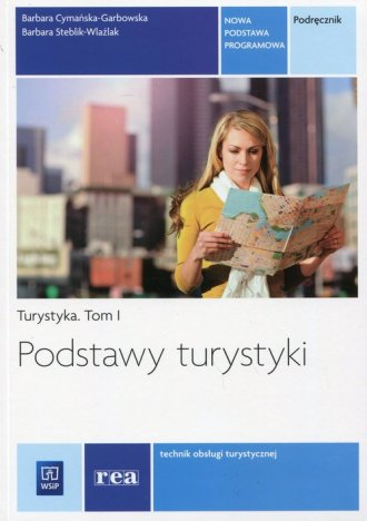Podstawy turystyki. Turystyka. - okładka podręcznika