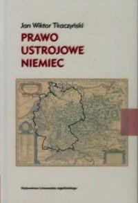 Prawo ustrojowe Niemiec - okładka książki