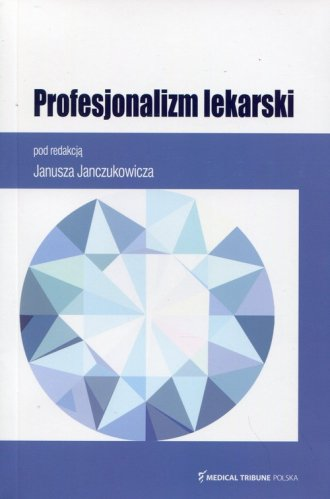 Profesjonalizm lekarski - okładka książki