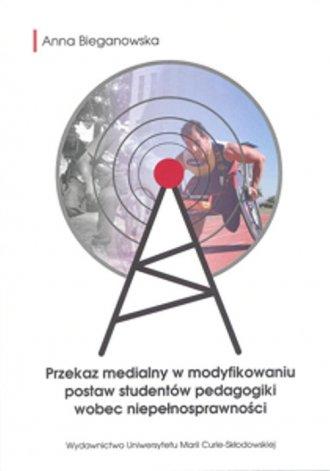 Przekaz medialny w modyfikowaniu - okładka książki