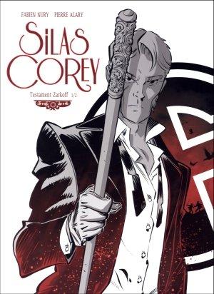 Silas Corey 3 Testament Zarokoff - okładka książki