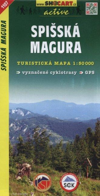 Spisska Magura Mapa turystyczna - okładka książki