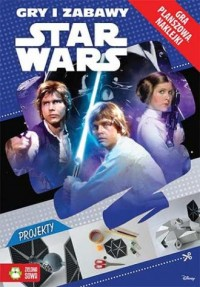 Star Wars. Gry i zabawy - okładka książki