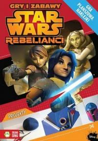 Star Wars Rebelianci. Gry i zabawy - okładka książki