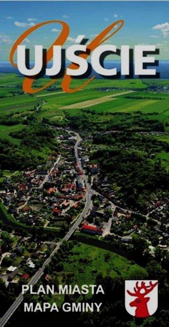 Ujście (plan miasta, mapa gminy) - okładka książki