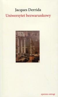 Uniwersytet bezwarunkowy - okładka książki