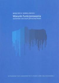 Warunki funkcjonowania systemów rzecznych północnej Polski - okładka książki