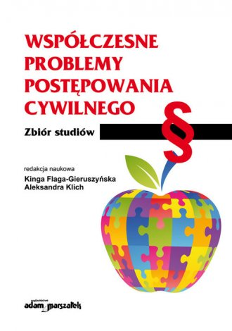 Współczesne problemy postępowania - okładka książki