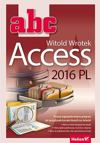 ABC Access 2016 PL - okładka książki