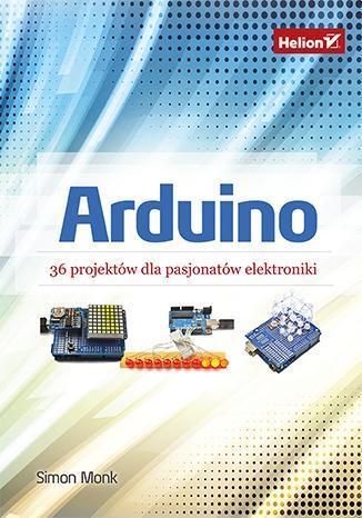 Arduino 36 projektów dla pasjonatów - okładka książki
