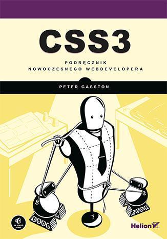 CSS3. Podręcznik nowoczesnego webdevelopera - okładka książki