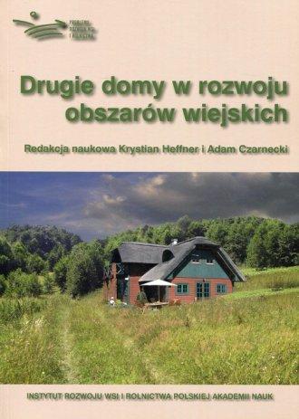 Drugie domy w rozwoju obszarów - okładka książki